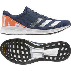adidas Adizero Boston 8 Shoes Men, tech indigo/silver metal/core black